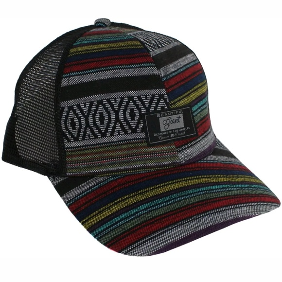 f21de924e74 BEAUTIFUL GIANT TRIBAL MULTICOLOR HAT SNAPBACK